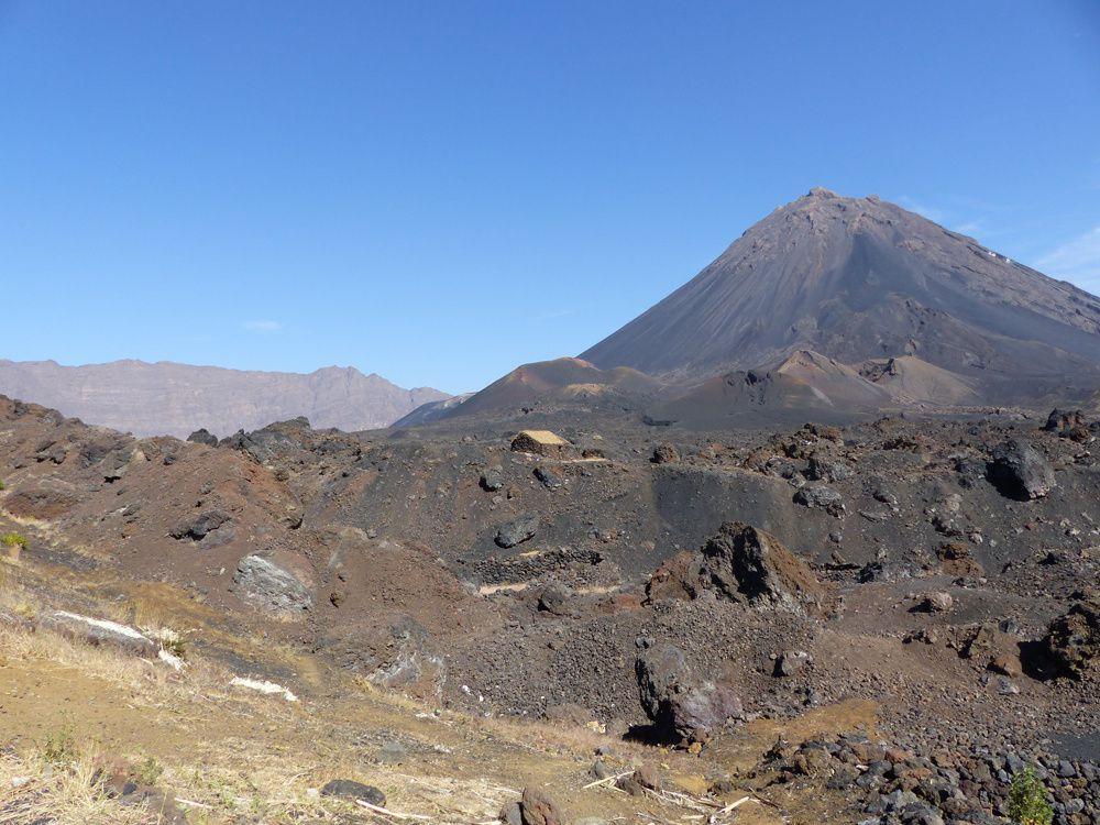 Le Pico de Fogo et la caldeira : une aire protégée