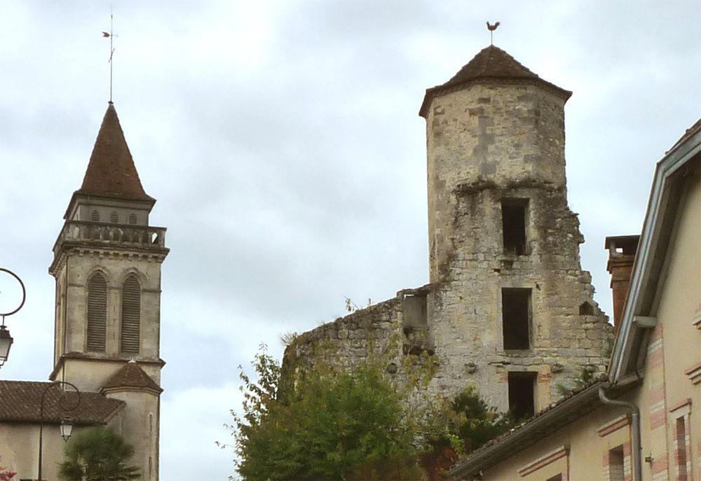 Sur le chemin des pélerins à Saint-Justin (Landes)
