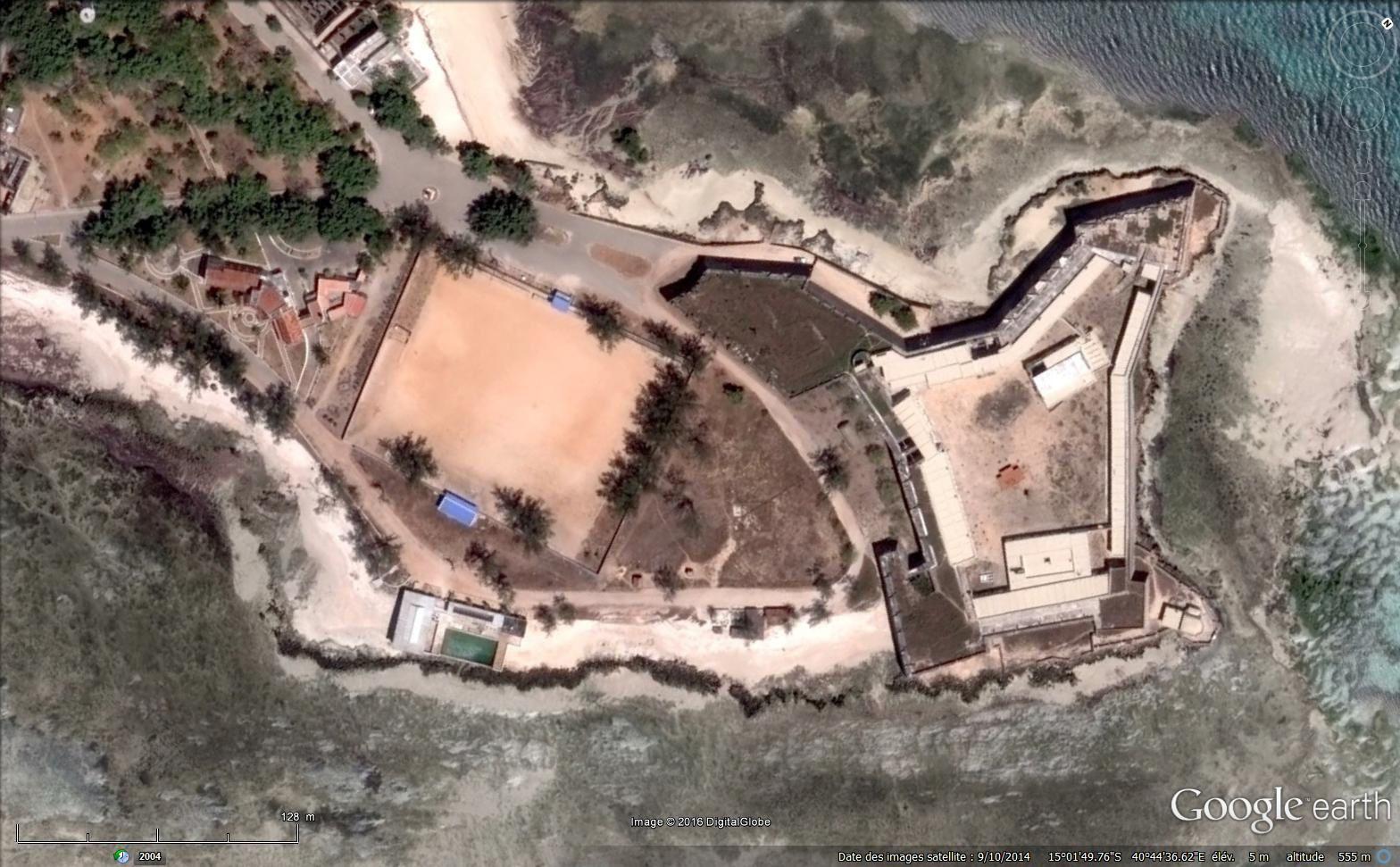 Le fort Sao Sebastian, la ville de pierre, le pont