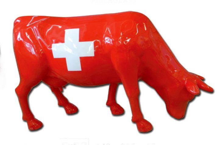 Les vaches grandeur nature en résine sont chez NLC DECO