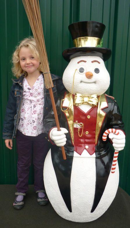 Décors de Noël chez NLC DECO : Les bonhommes de neige