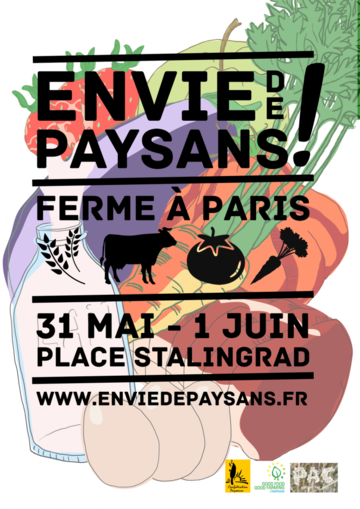 Paris (19e) : Lancement &quot&#x3B;Envie de paysans&quot&#x3B;, une ferme à Paris