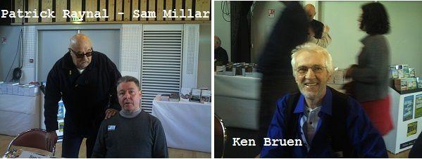Les Irlandais : Sam Millar, son traducteur - et Ken Bruen