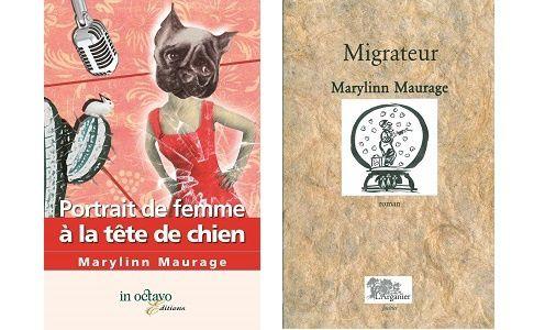 Marylinn Maurage : Portrait de femme à la tête de chien (In-Octavo)