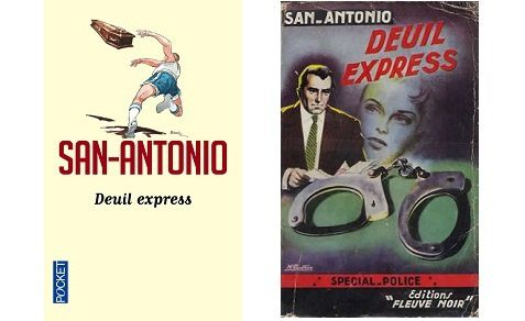 San-Antonio : Deuil express (Pocket, 2013)