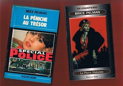 Brice Pelman: La péniche au trésor – La Pierre Makatea (Fleuve Noir)