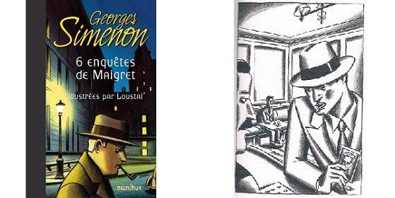 Georges Simenon / Loustal: 6 enquêtes de Maigret (Omnibus, 2014)