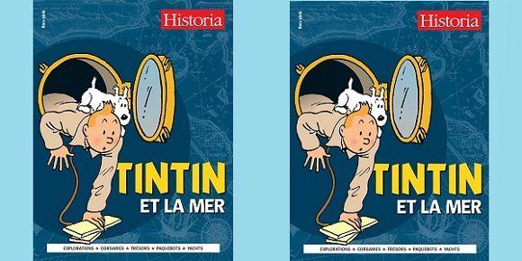 Tintin et la mer – Historia hors-série octobre 2014