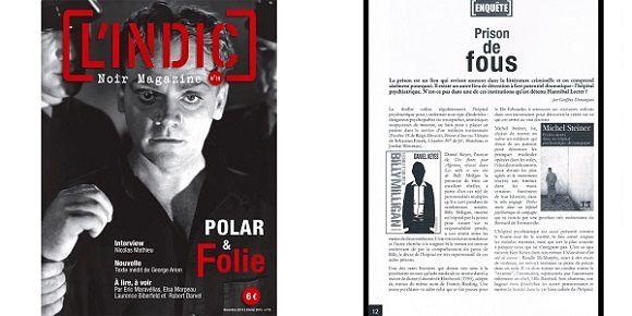 Le noir magazine L'Indic n°19 est disponible