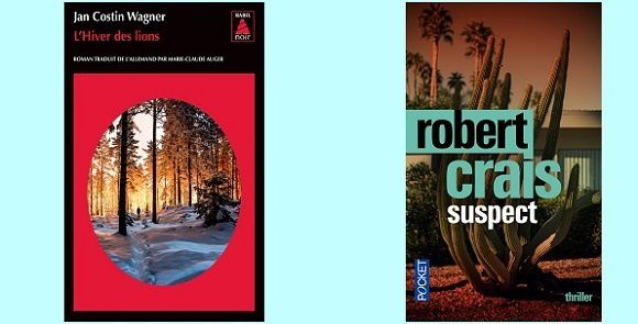 Polars poche 2015 : Jan Costin Wagner (Babel Noir) & Robert Crais (Pocket)