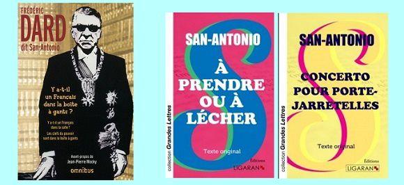 San-Antonio: Y a-t-il un Français dans la boîte à gants (Omnibus) - ou San-A en grands caractères ?