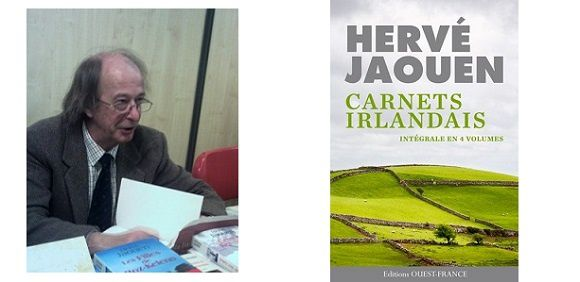 Hervé Jaouen : Carnets irlandais (Éd.Ouest-France, 2015)
