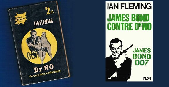Ian Fleming : Dr No (1958) – James Bond –
