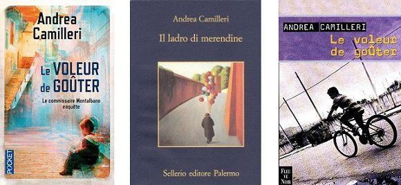 Andrea Camilleri: Le voleur de goûter (Fleuve Noir, 2000 – Pocket)