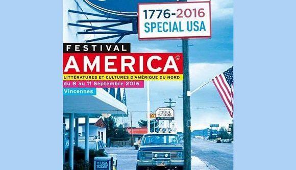 Festival America 2016 du 8 au 11 septembre à Vincennes