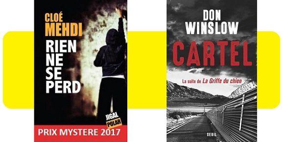 Prix Mystère de la critique : les vainqueurs 2017