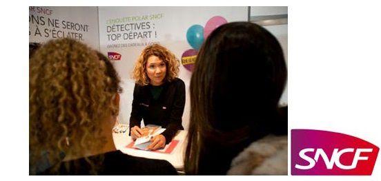 Jouez et gagnez des polars avec SNCF au salon Livre Paris 2017