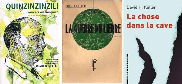 David H.Keller - auteur SF et fantastique - dans Quinzinzinzili n°24