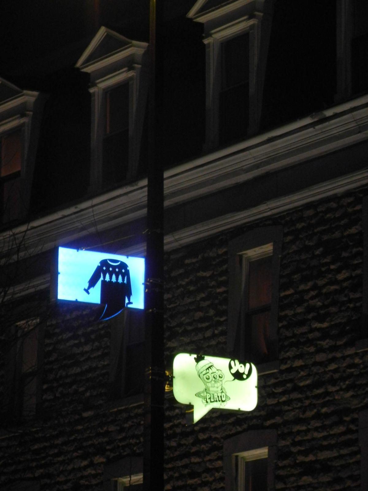 Lumière hivernale urbaine