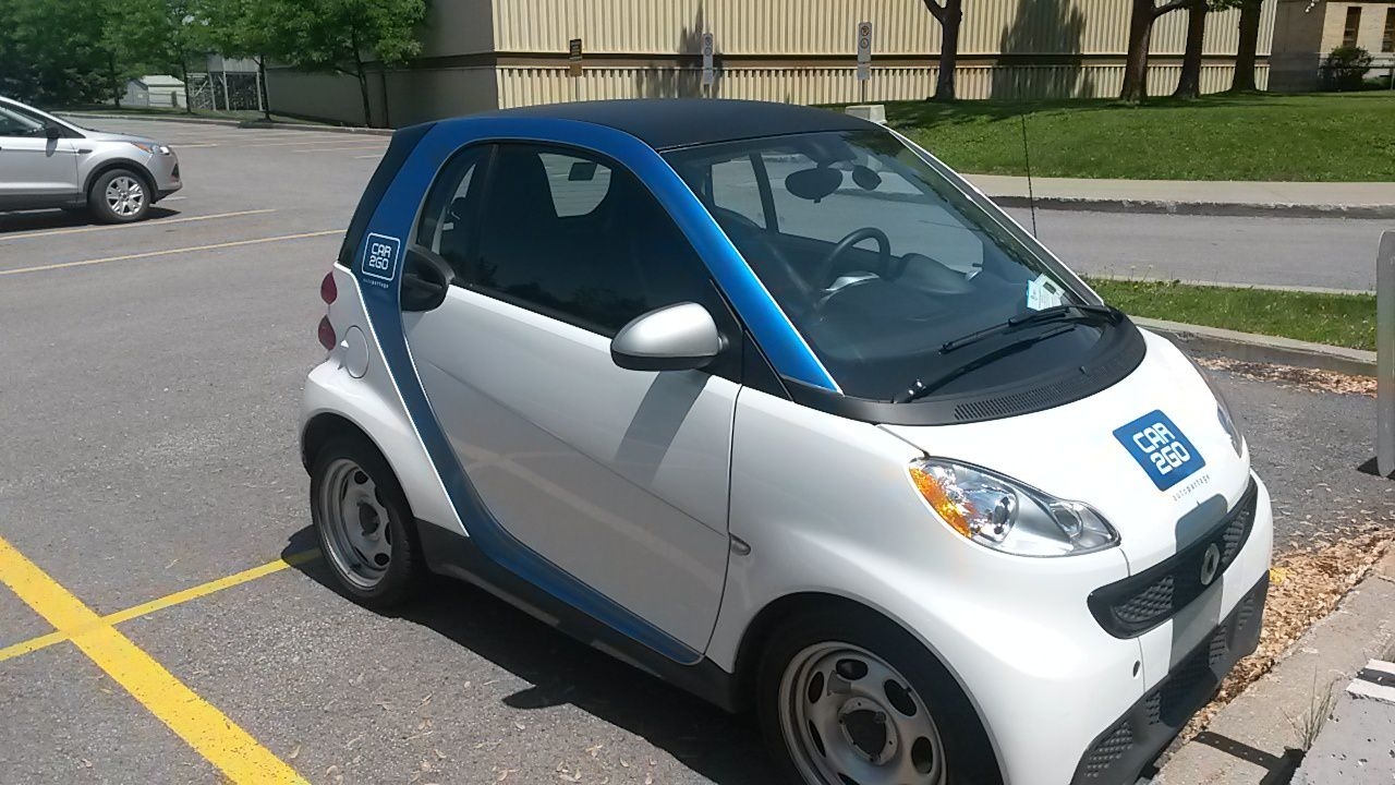 Car2go, avoir l'air cool en smart!