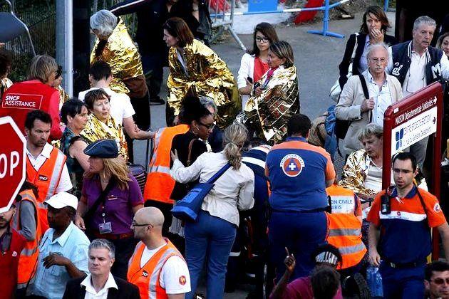 Brétigny : rescapés et services de secours