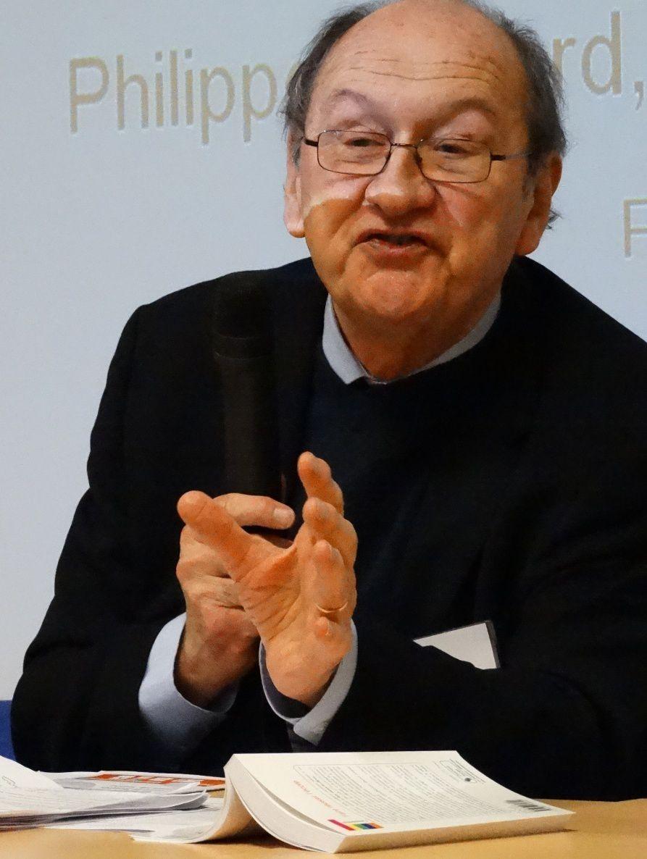 Conférence de P. Joutard, questions de P. Bouchard, journaliste et de G. Moreau, secrétaire général honoraire