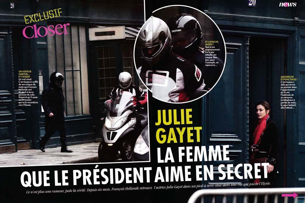 """La prétendue """"affaire Gayet"""" n'était qu'un leurre destiné à masquer des réunions secrètes de Hollande"""