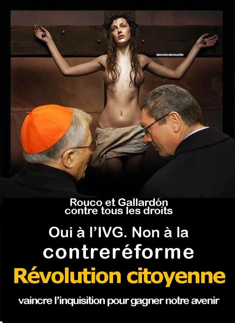 Le national-catholicisme espagnol contre l'IVG