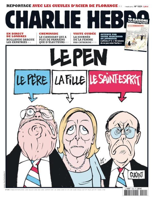 NON ! MARINE LE PEN N'EST PAS CHARLIE