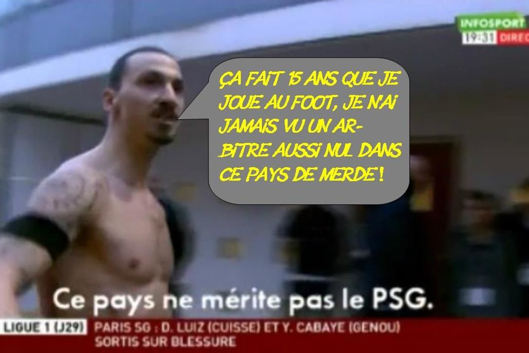 Ibrahimovic, intermittent du spectacle