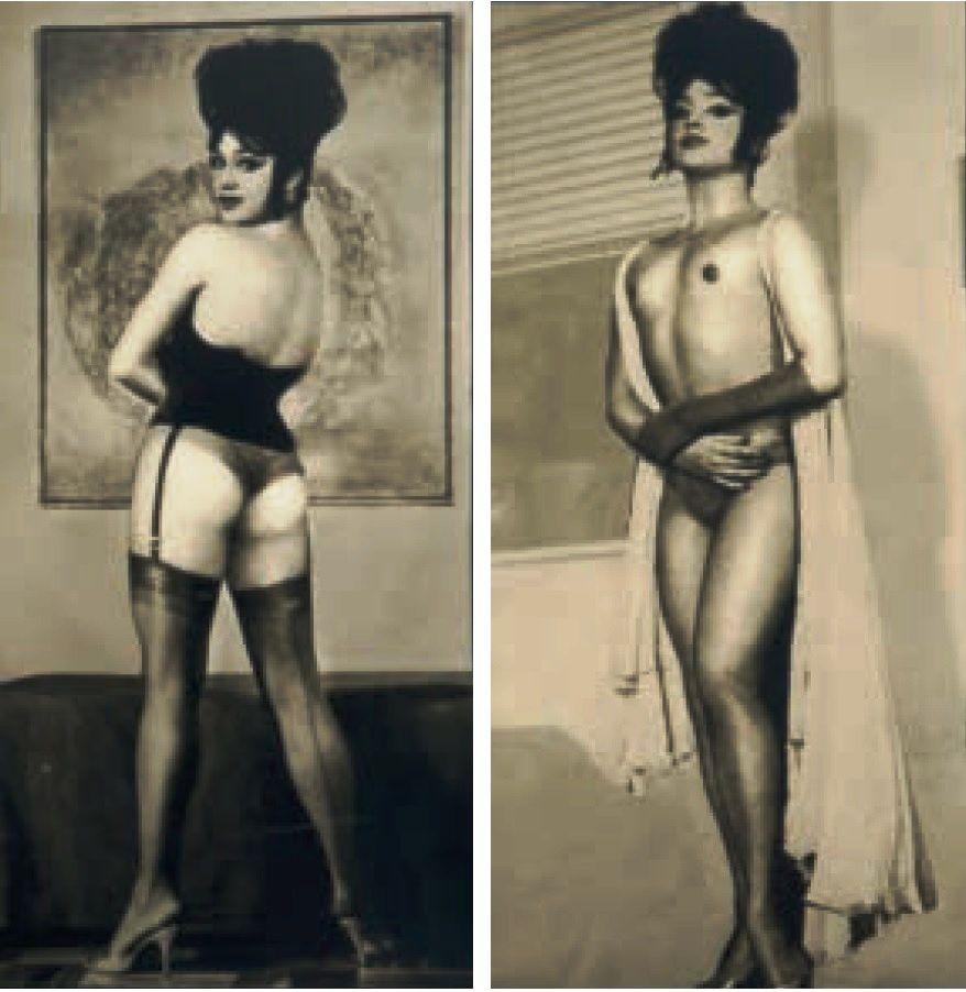 Le montage est fait à partir de photos d'un authentique transsexuel.