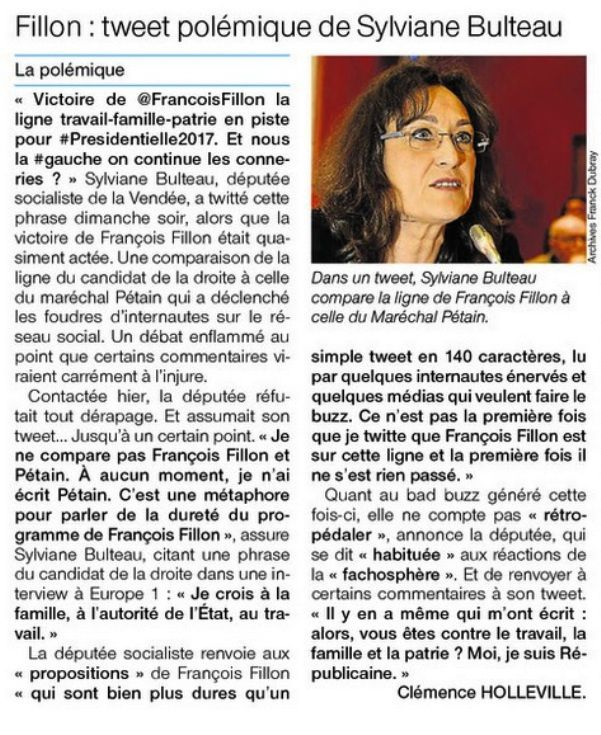 Ouest-France 29/11/2016