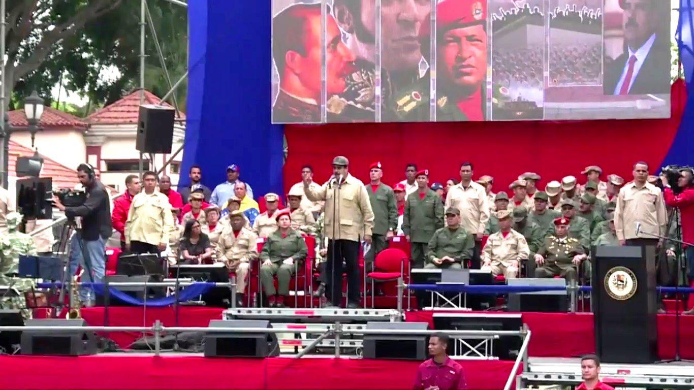 Venezuela : Maduro vers la guerre civile ?