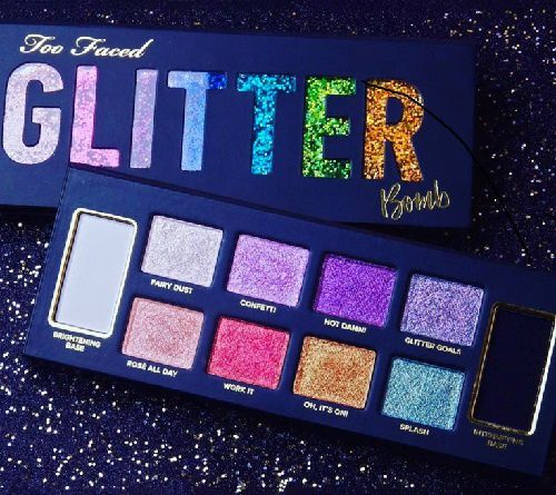 La palette Glitter Bomb de Too Faced