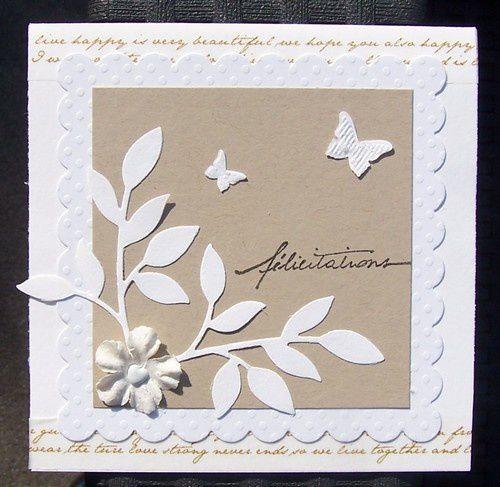 2 cartes mariage