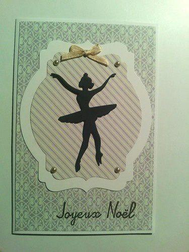 2 cartes spéciales &quot&#x3B;ballerines&quot&#x3B;