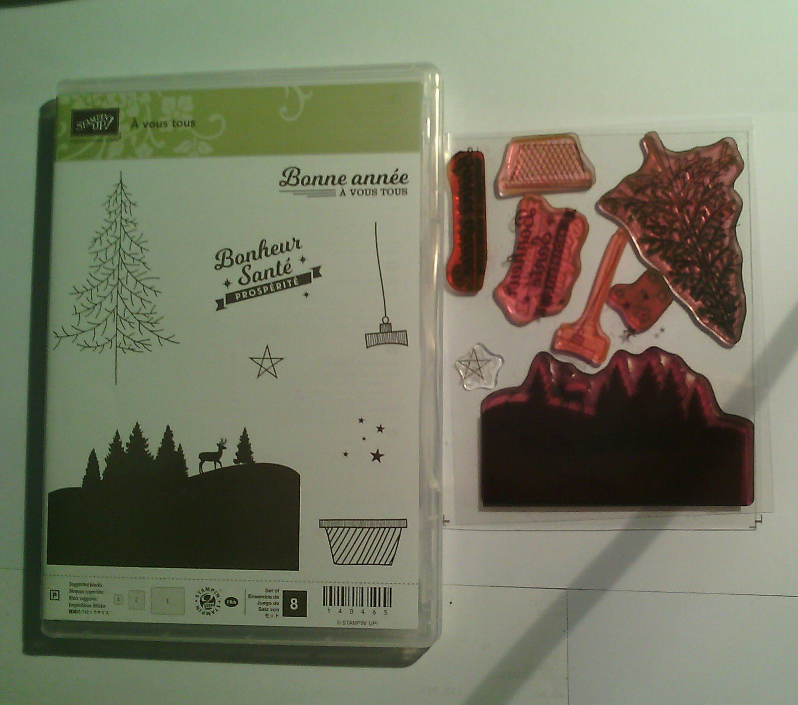 tampons stampin'up 8 €