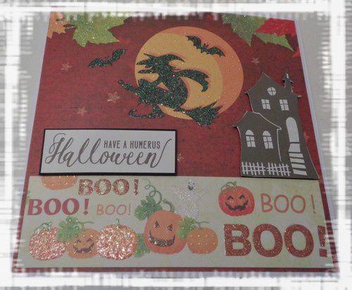 2 cartes pour Halloween