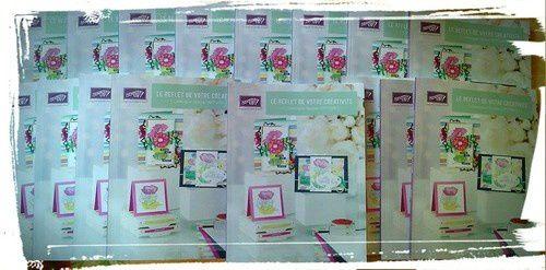 Une carte fleurie pour la Fête des Mères
