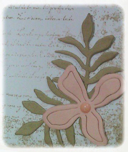 Une carte &quot&#x3B;Poussière de rose&quot&#x3B;