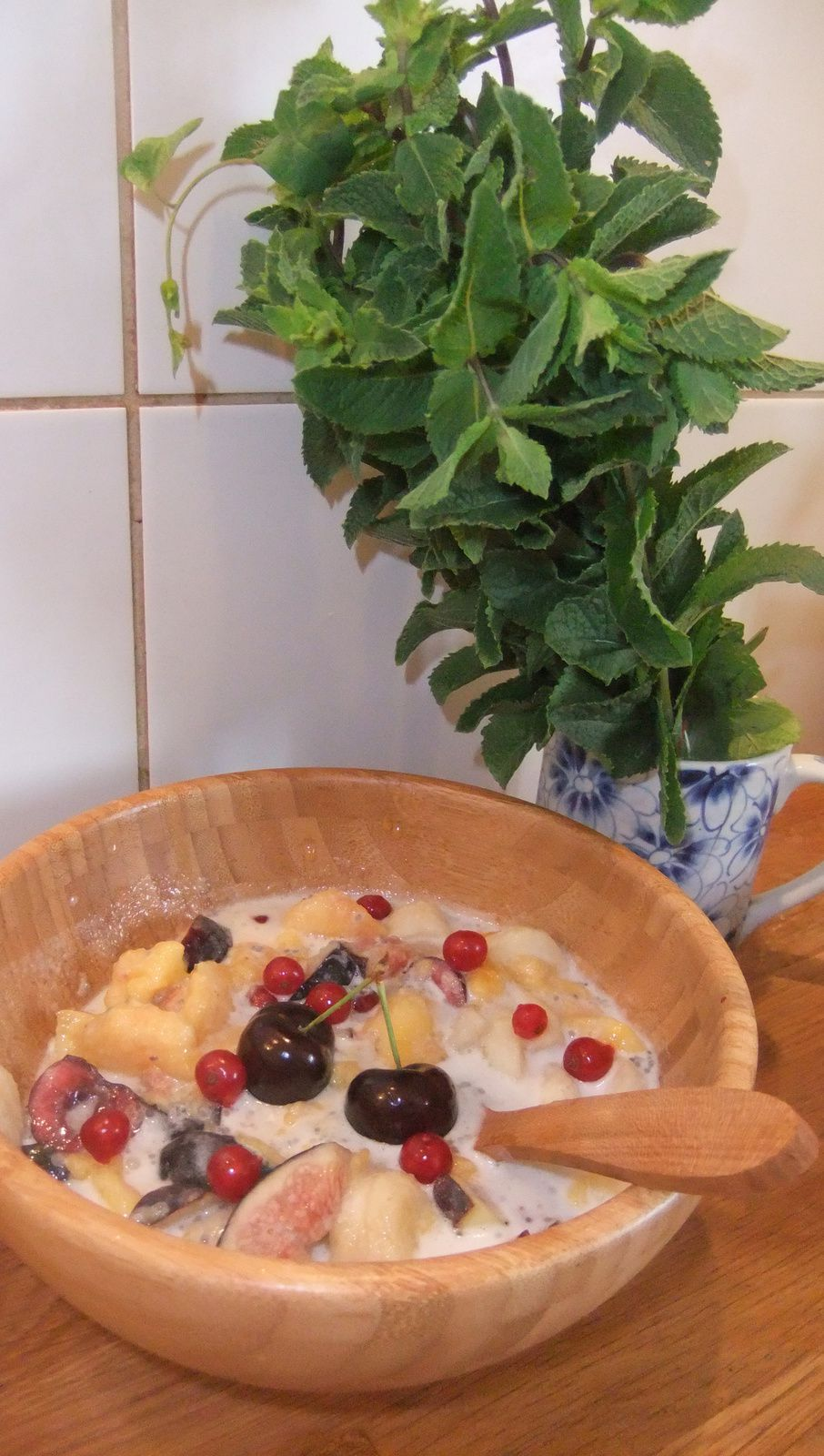 &quot&#x3B;Pudding&quot&#x3B; de fruits aux graines de chia