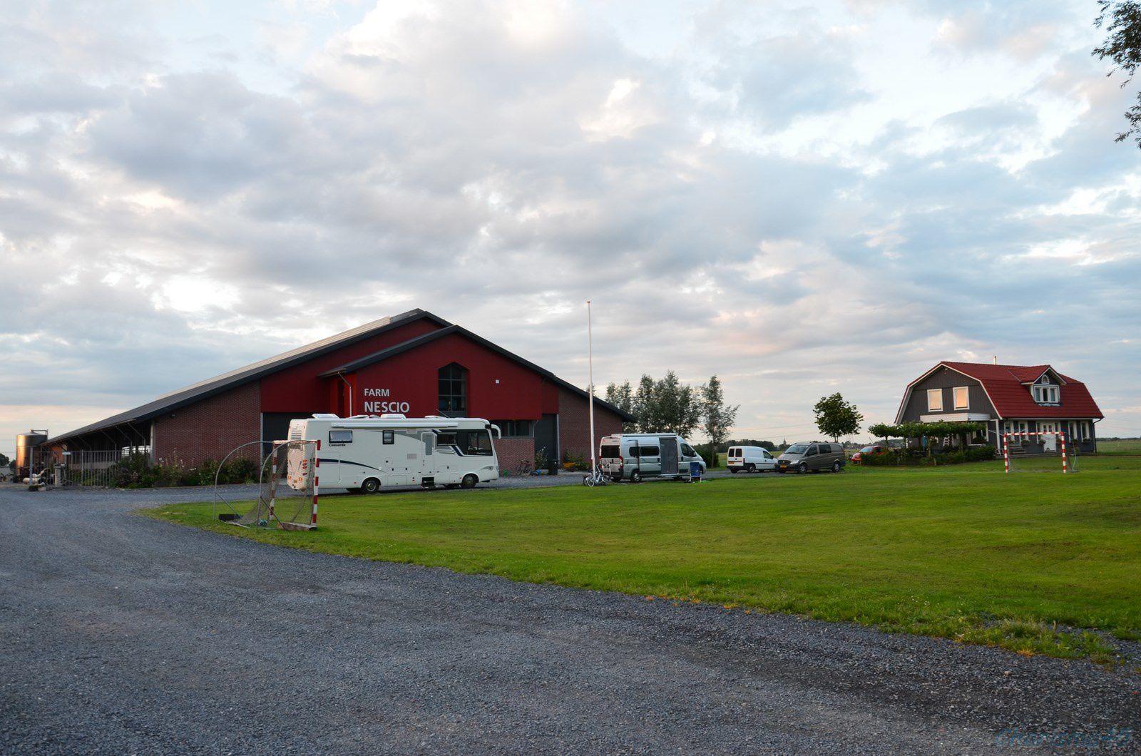 Pays-Bas en camping-car (Nescio farm)