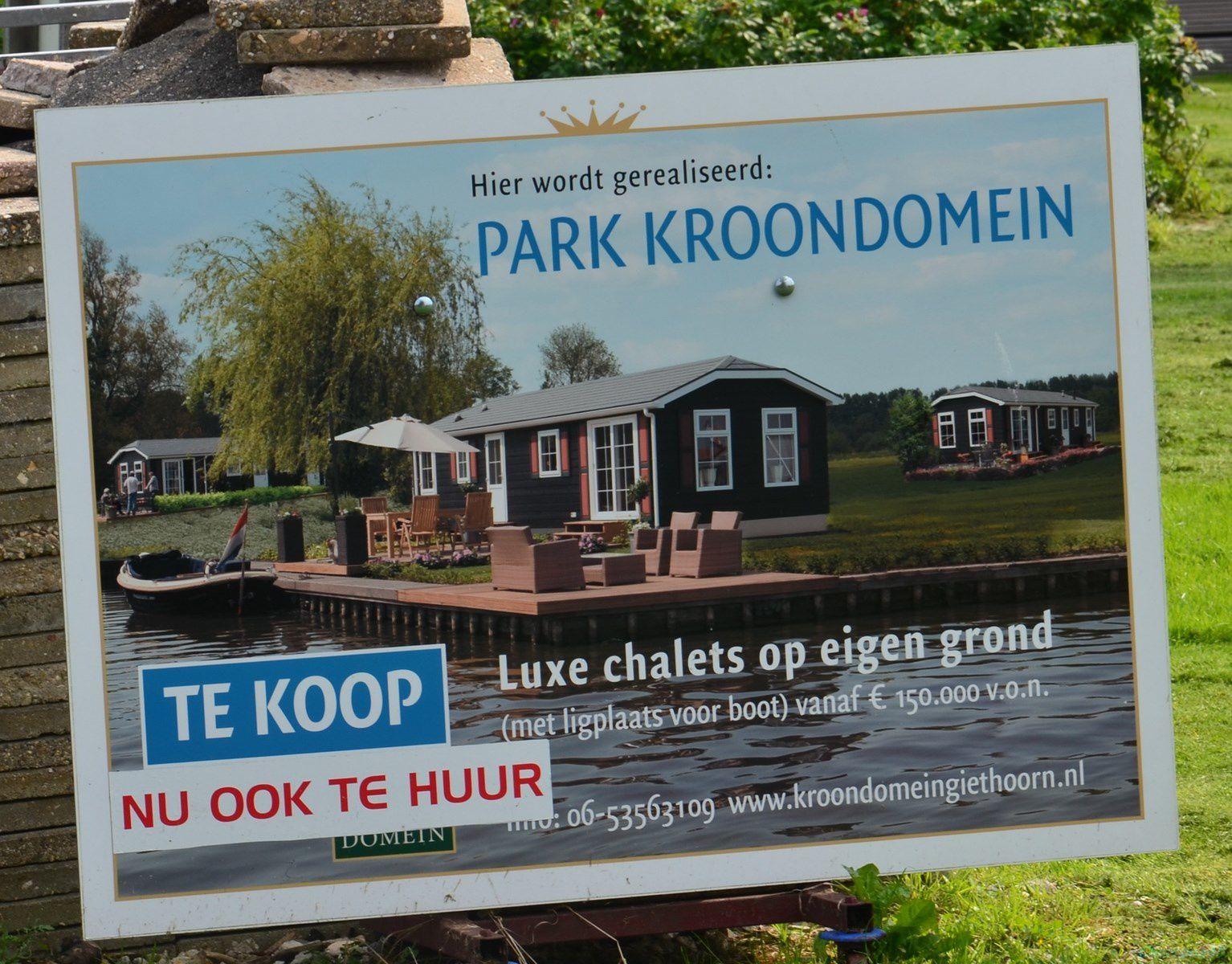 Giethoorn (Pays-bas en camping-car)