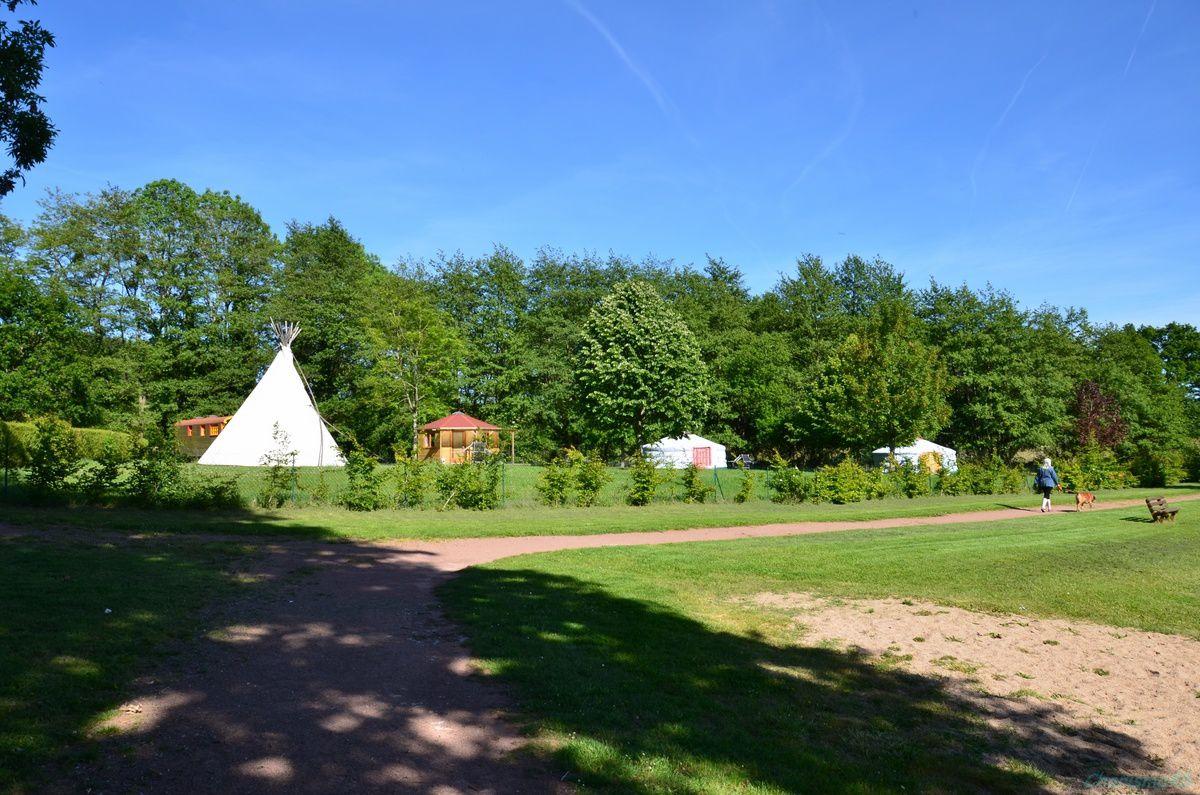 Le camping de l'étang du goulot à Lormes