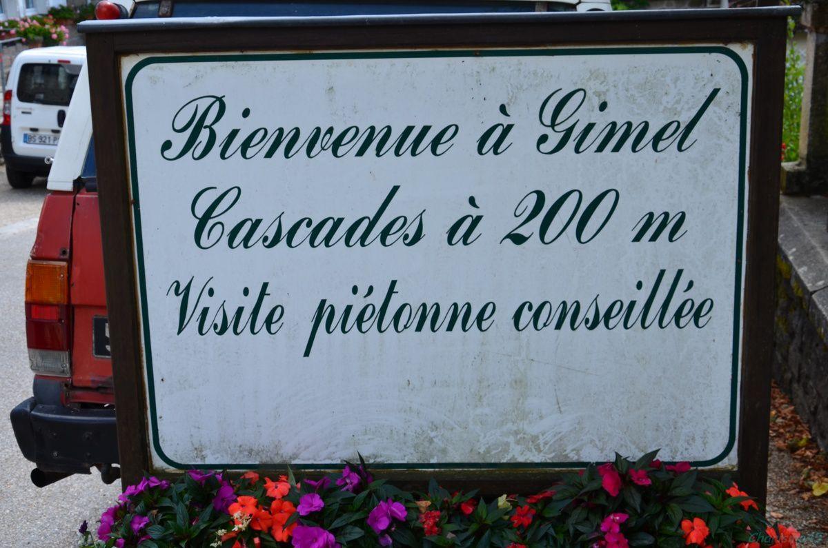 Gimel les cascades (Limousin en camping-car)