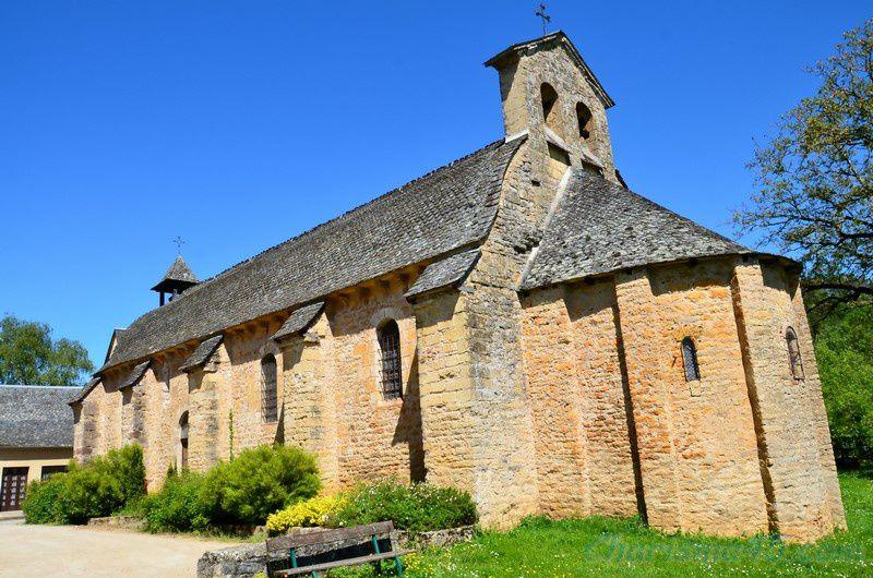 Chapelles des pénitents blancs à Saint Come d'Olt