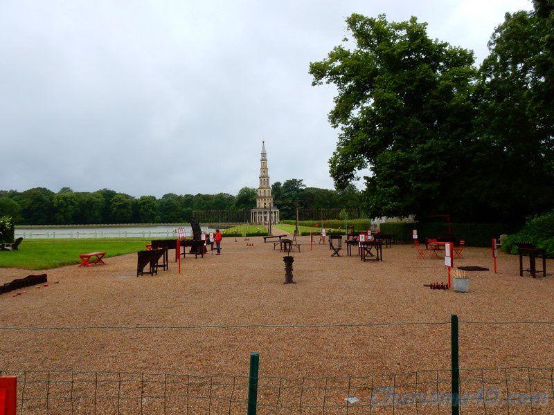 Promenade en Touraine (La pagode de Chanteloup)