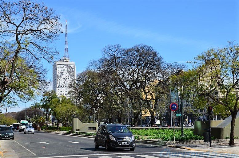 Buenos-Aires, (Argentine en camping-car)