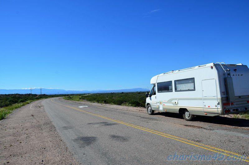 Cuesta de Miranda (Argentine en camping-car)