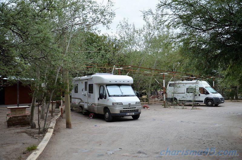 Camping Los Algarrobos - Amaïcha del valle (Argentine en camping-car